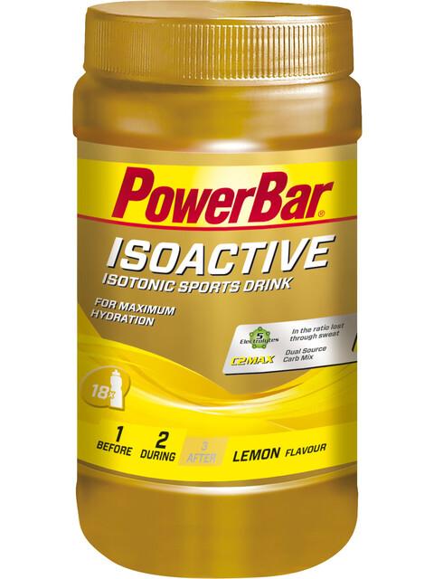 PowerBar Isoactive - Nutrition sport - Lemon 600g jaune/Or